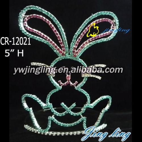 easter rhinestone crown for kids