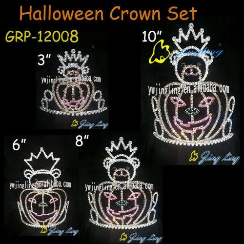 pumpkin tiara halloween crowns