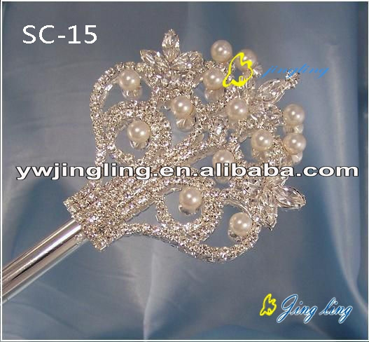gold plating pearl scepters