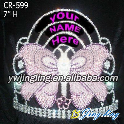 special butterfly christmas pageant crown