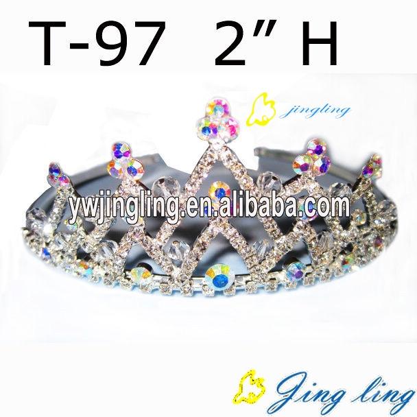 pageant Crown AB Crystal Crown