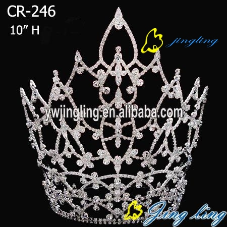 crystal pageant crowns