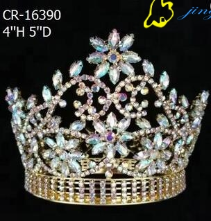 Gold Plated Queen AB Pageant Crown