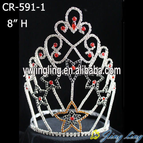 Custom star pageant crown