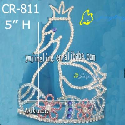 crown animal bird shape