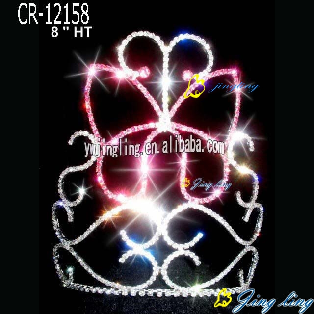 Wholesale Butterfly Shape Pageant Crown For Sale
