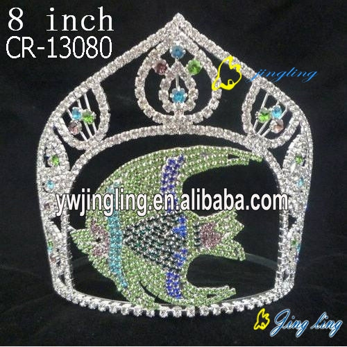 Custom King Crowns Fish Shape