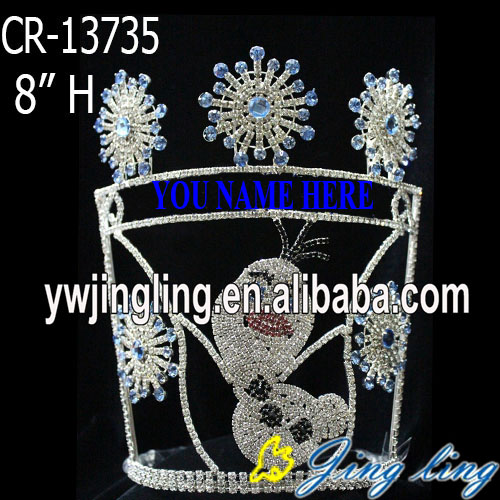 Hot animal  snowflake pageant frozen Christmas crowns
