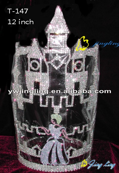 Castle Crown Cinderella Shape