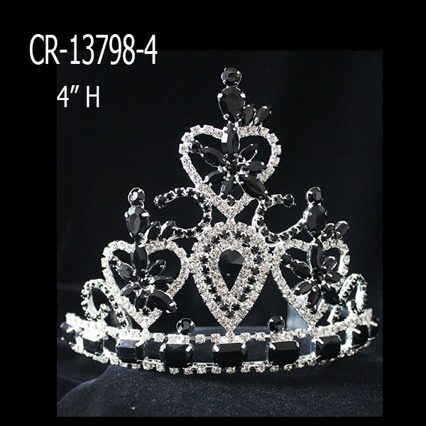 Wholesale Black Cheap Pageant Crown For Sale