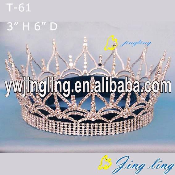 Custom King Crowns Full Round Crown
