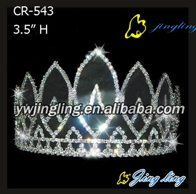 pageant crowns rhinestone