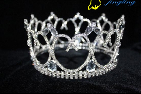 new design custom full round pageant crown