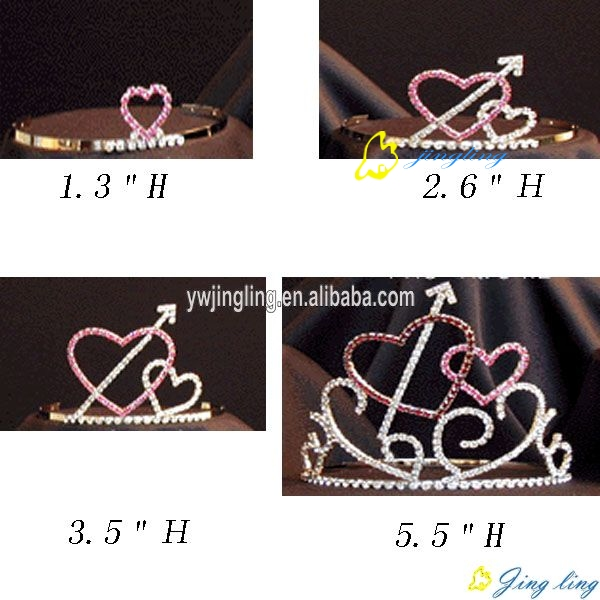 Grown Group Heart Shape Holiday Crown