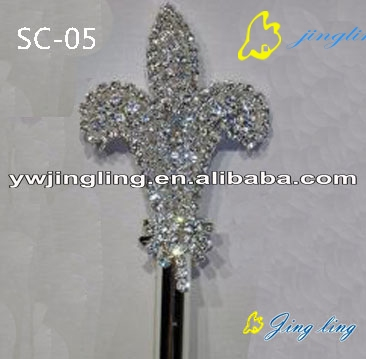 flower shape scepters