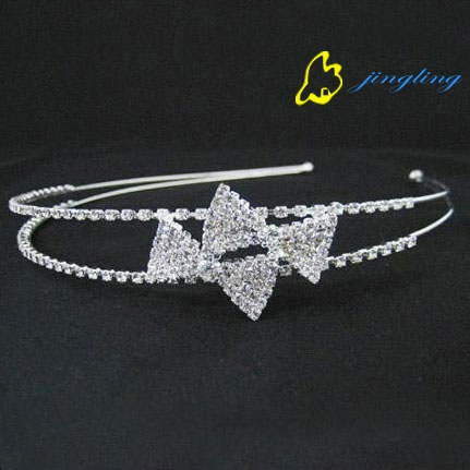 latest small princess hair band pageant tiara