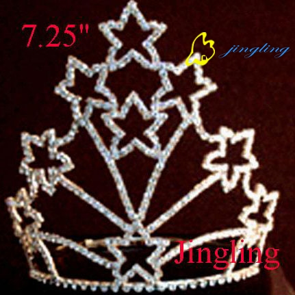 star shape pageant crowns cheap tiaras