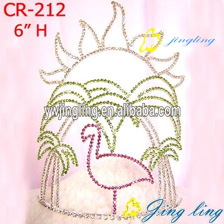 Rhinestone Crowns Animal shape