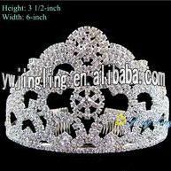 Bridal Wedding Party Pageant Crystal Tiara Crown