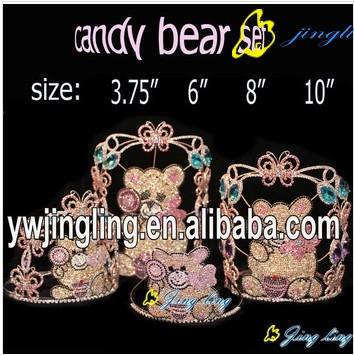 Animal Crown Cute Bear Crown Group
