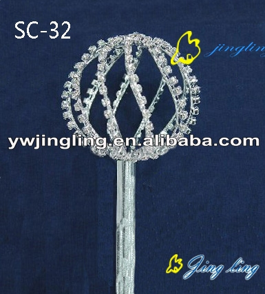 round ball shape scepters