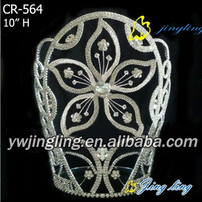 Crown big flower shape