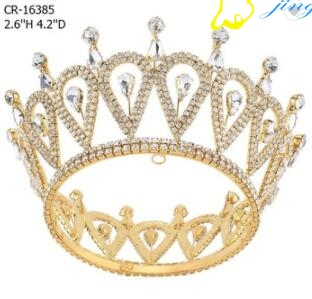 Full Round Beauty Queen Pageant Crown