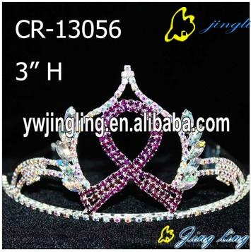 Ribbon Crown Purple Color