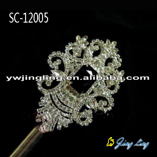 black charm Pageant Scepters