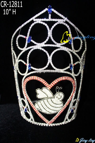 sweet heart valentine crown