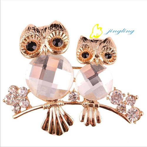 Jingling new owl pin