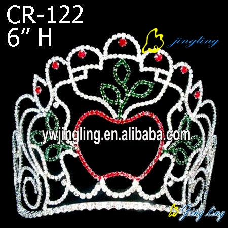 Pageant Crown apple shape