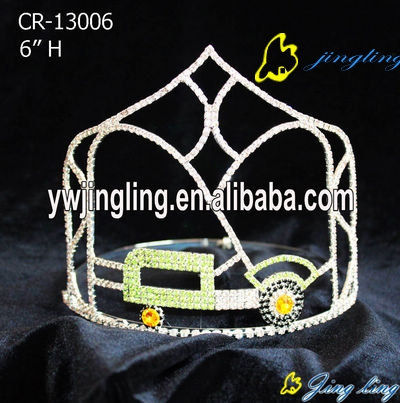 Pageant Crown Car Shape