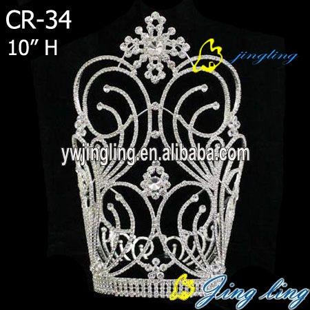 large special rhinestone pageant crown