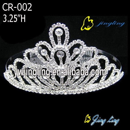 Bridal crystal crown tiaras