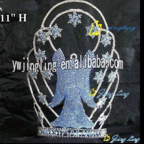 2013 new rhinestone witch halloween crown
