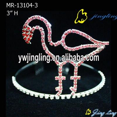 big ostrich bird animal crown