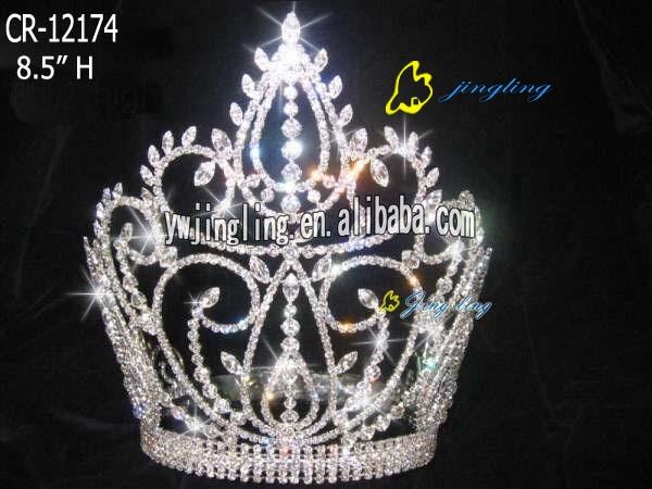 hot saletiara pageant fleur de lis crown