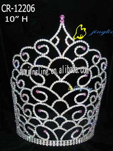 big special design tiara pageant crown