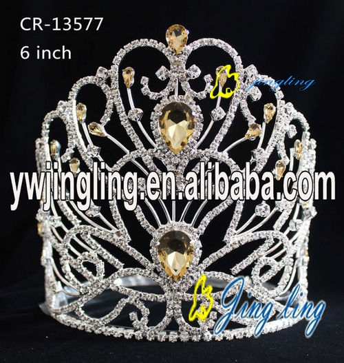 Glitz Pageant Crowns Pearl Crown