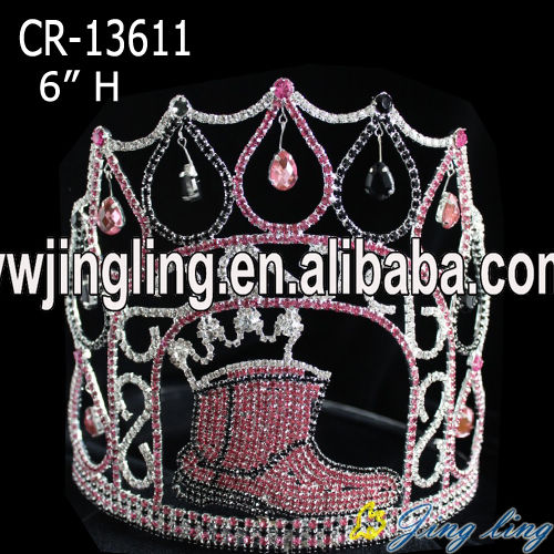 shoes pageant crown