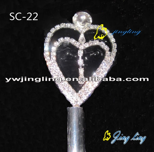double hearts scepters
