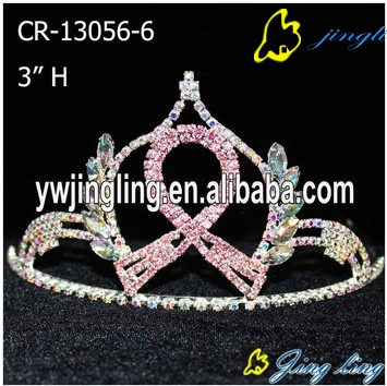 Ribbon Crown Pink Color