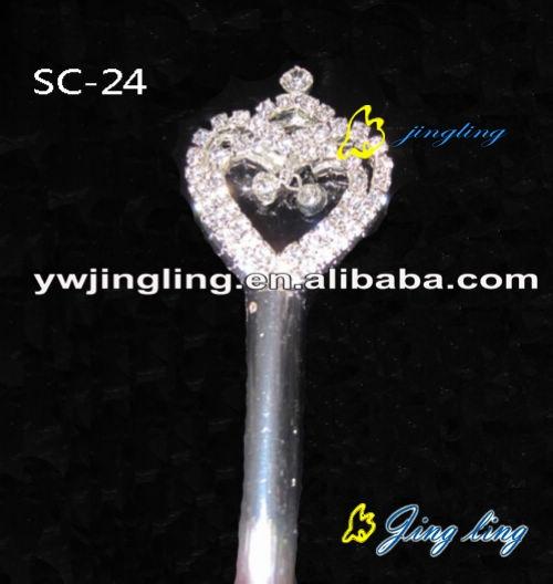 cute heart shape scepters