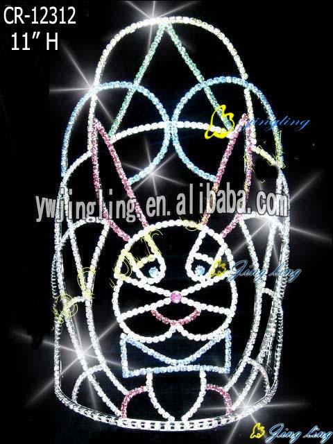 Pageant Crown rabbit shape
