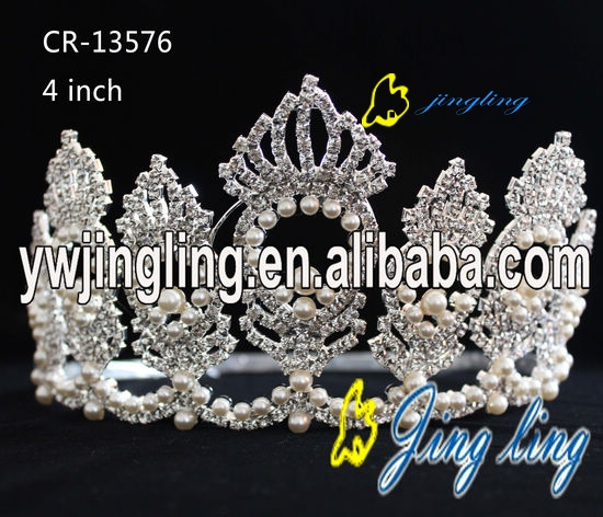 Custom King Crowns Pearl Crown