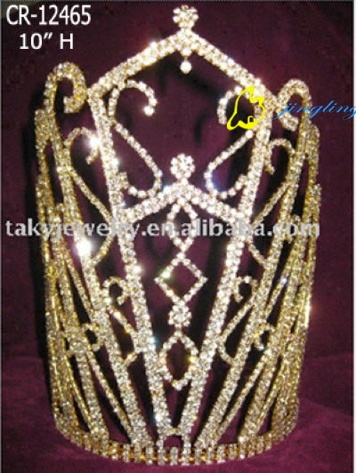 Crown gold plating noble