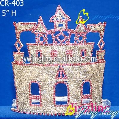 wholesale castle Small size pageant crowns