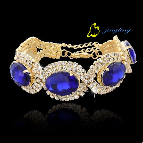 Fashion jingling 18K gold plated bracelets