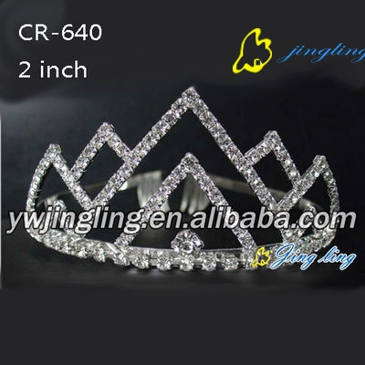 fashion crystal bridal tiara wedding